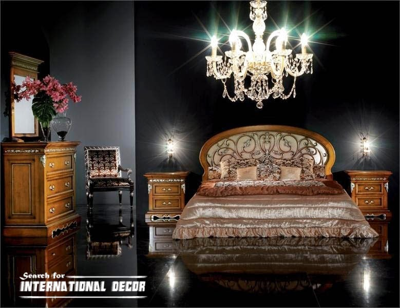Luxury Italian Bedroom Furniture In Classic Style