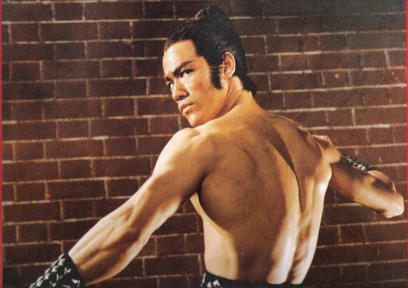 Rock Body Muscle Building Fitness Motivation : Bruce Lee ...