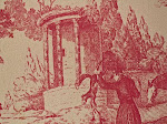 Antique Toile Wallpaper