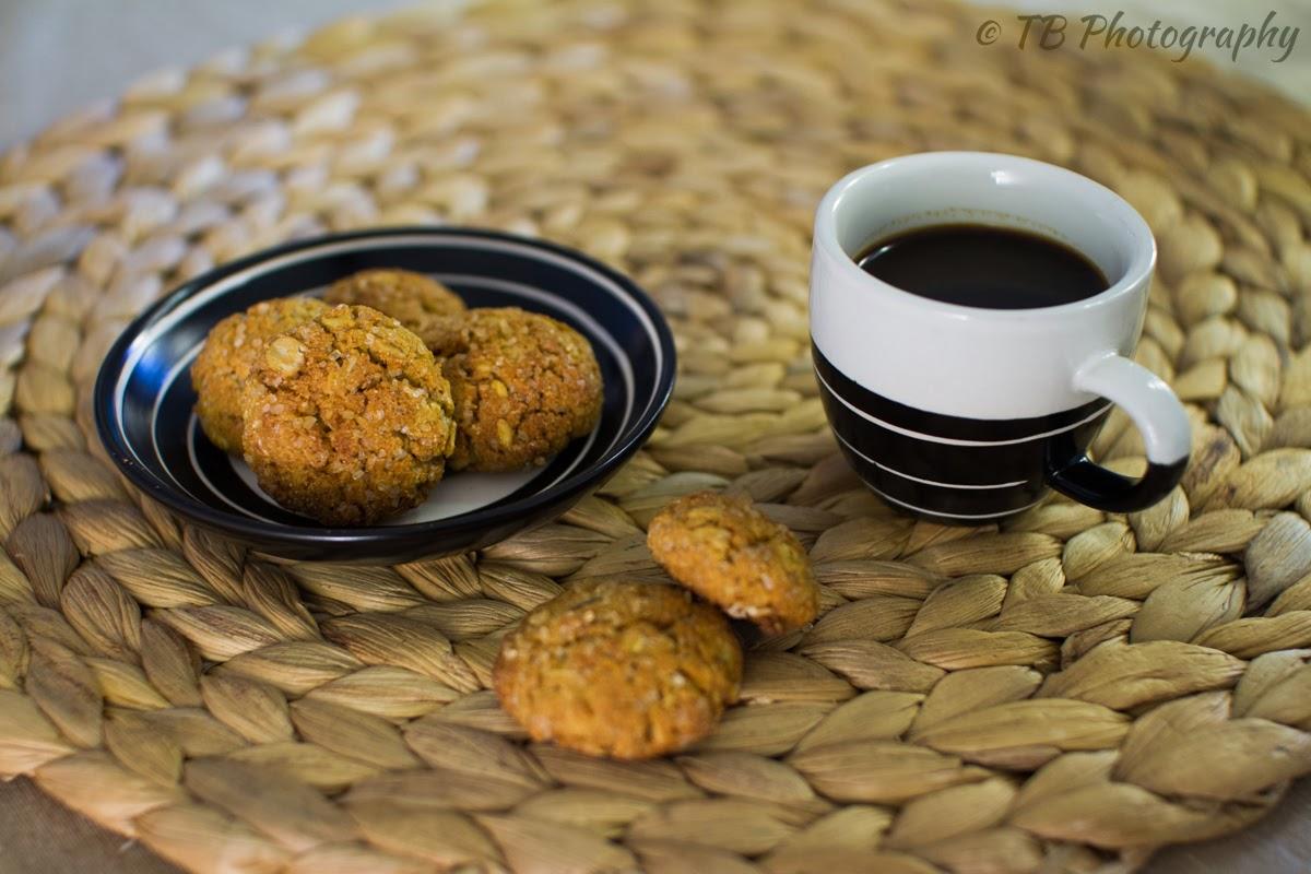 biscotti di farina d'orzo e fiocchi d'avena