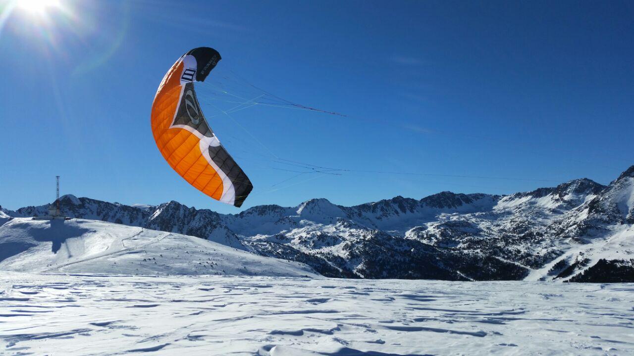 snowkite boatkite