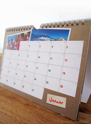 Schweizer Käse Kalender mit Rezepten