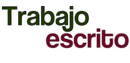 TRABAJO GRUPAL ESCRITO Y DISERTACIÓN