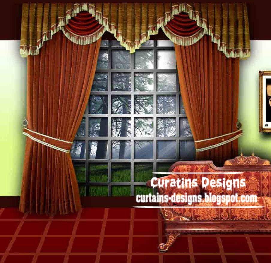 curtain designs. Black Bedroom Furniture Sets. Home Design Ideas