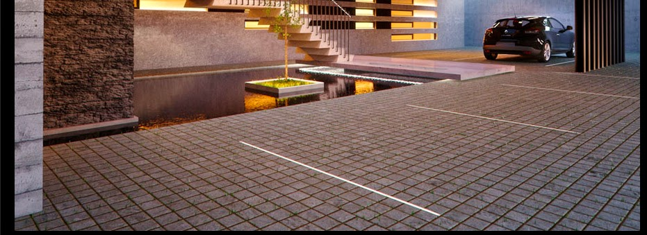 Iluminaci n led perfiles led for Iluminacion de piso