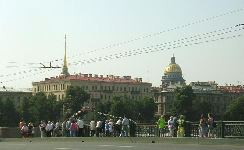 Санкт-Петербург, Стрелка Васильевского острова, День ВМФ