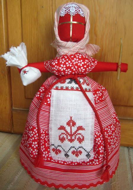 народная  кукла пасхальная