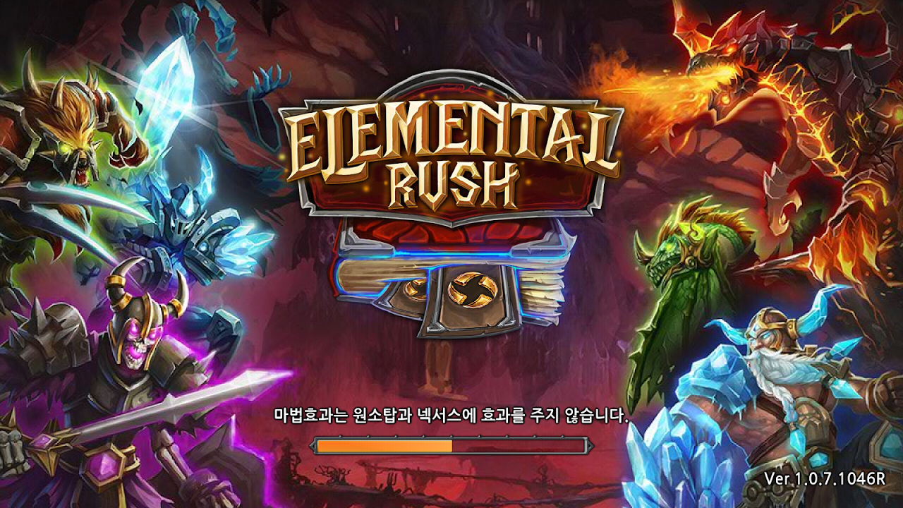 Elemental Rush (KR) Gameplay IOS / Android