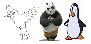 google panda, penguine, hummingbird
