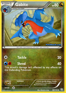Gabite Dragons Exalted Pokemon Card