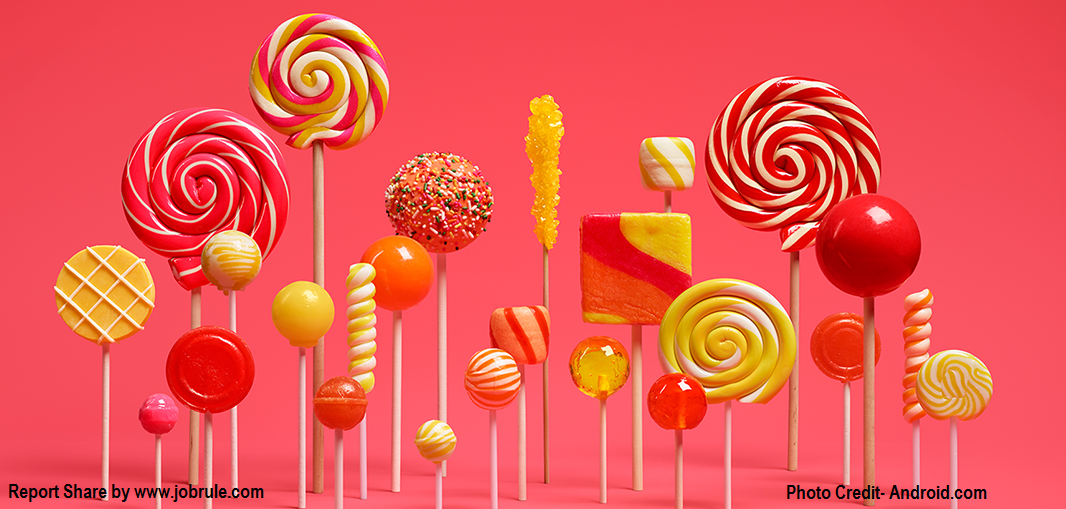 Upgrade Your Mobiles/Tablets with Brand New Android 5.0 Lollipop Version- Check Important Features of Android Lollipop 5.0