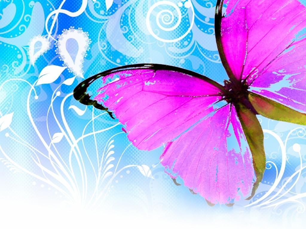 Cute Pink Butterfly