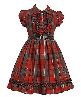 little+girls+++red+plaid+dress+for+little+girls+++holiday+party+dress