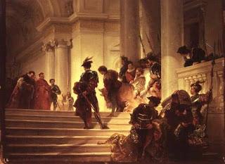 Cesar Borgia abandona El Vaticano. Giusseppe-Lorenzo Gatteri