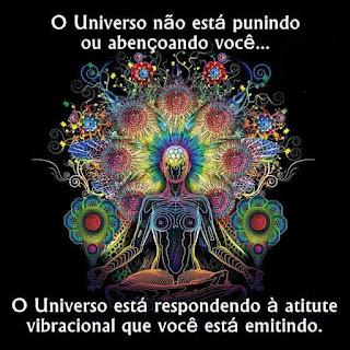 O universo responde as suas ações