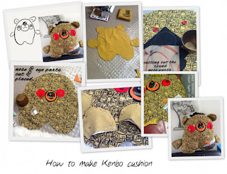 how to make Kenbo-san cushion