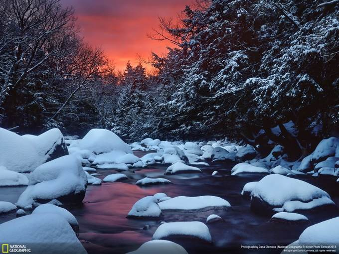 Snowy River Sunrise