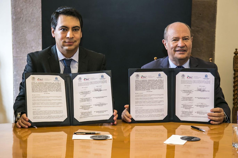 UASLP Y SCT, ACUERDAN COLABORACIÓN DE INTERÉS COMÚN Y BENEFICIO SOCIAL