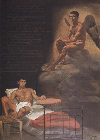 Yannis+Tsarouchis69_1968-74_Davids_dream