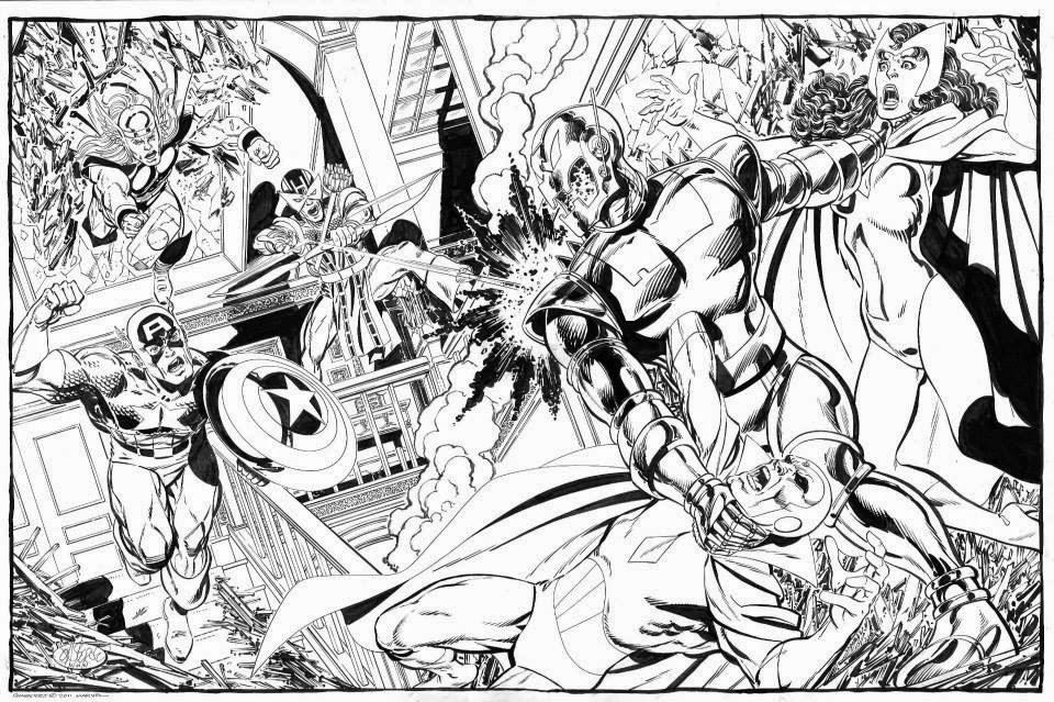 The Avengers vs Ultron