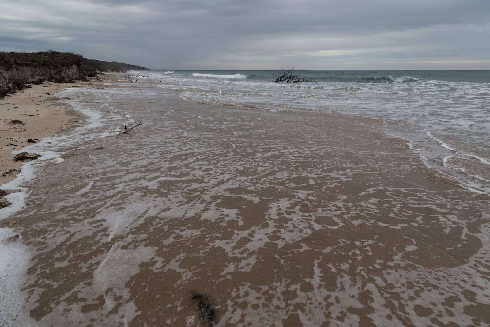high tide three mile beach wilsons promontory