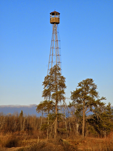how to build a fire lookout tower
