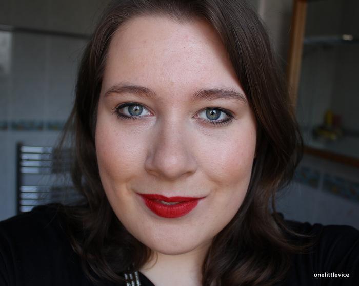 One Little Vice Beauty Blog: High End makeup FOTD