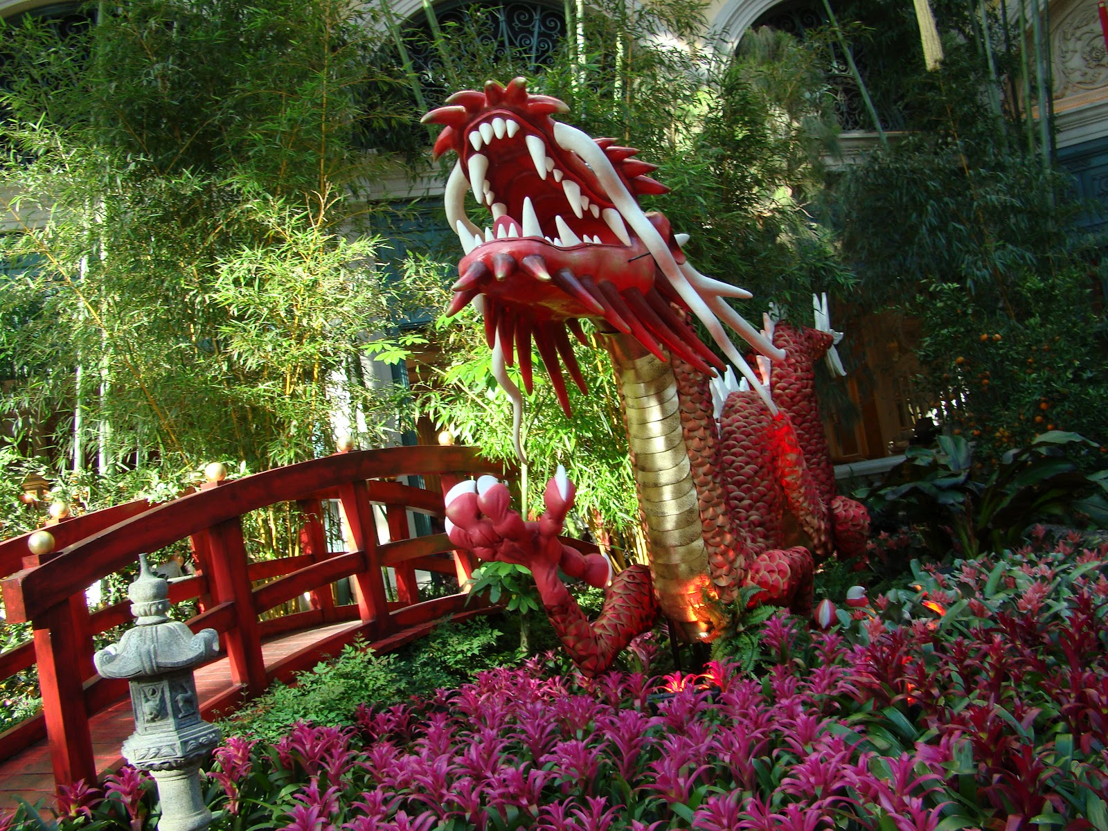 I Love Checking The Botanical Garden To See What They Have To See Each Time  I Visit. Right Now, It Is The Year Of The Dragon But Will Change March 12,  2012.