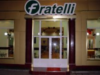 Samarkand entrance to fratelli cafe