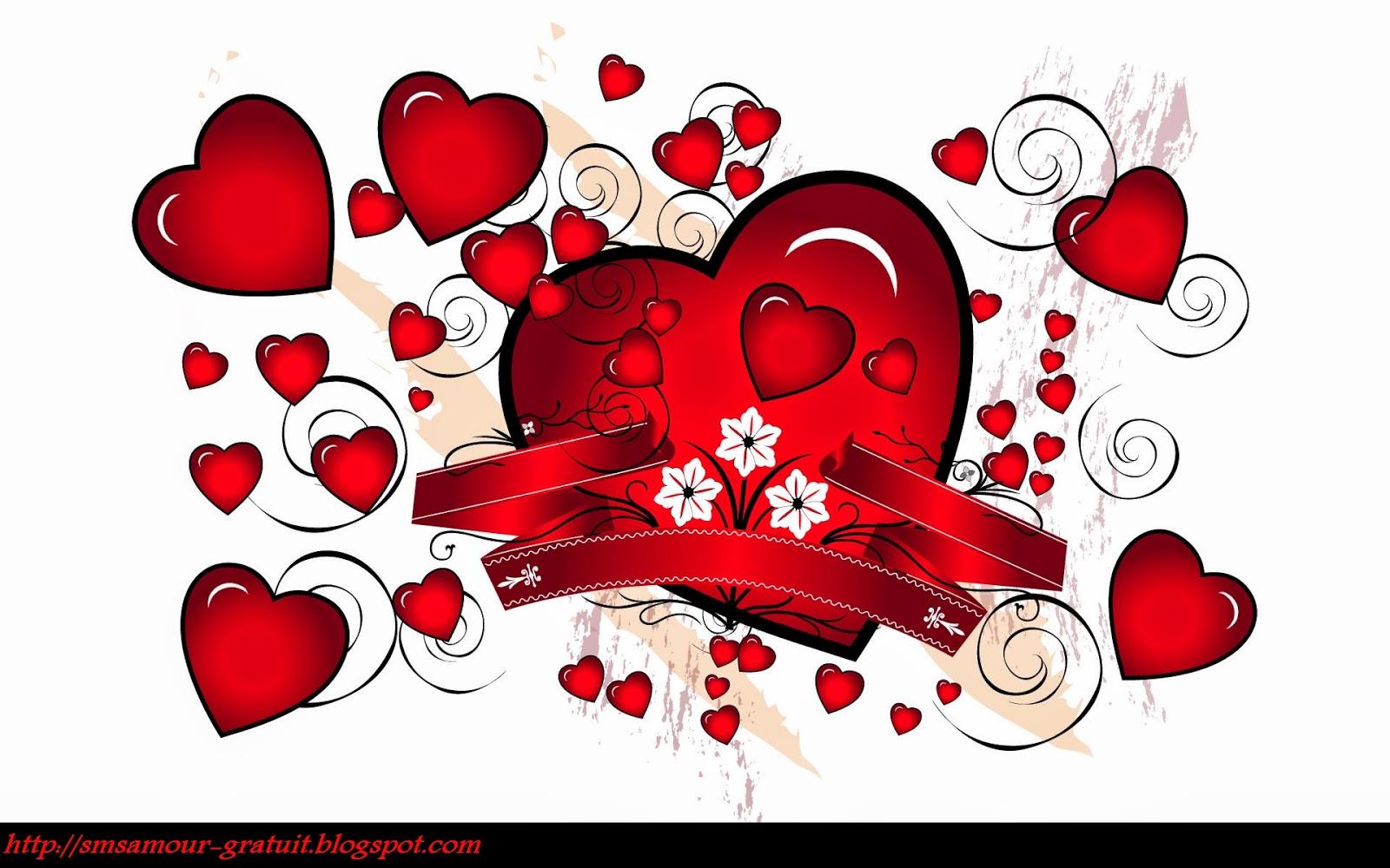 Célèbre Messages sms pour dire je t'aime pour toujours mon amour ~ message  CA82