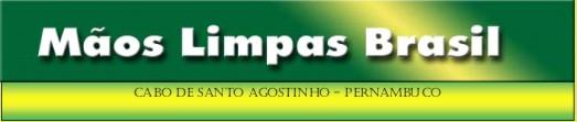 INSTITUTO MÃOS LIMPAS BRASIL- Cabo de Santo Agostinho-Pernambuco