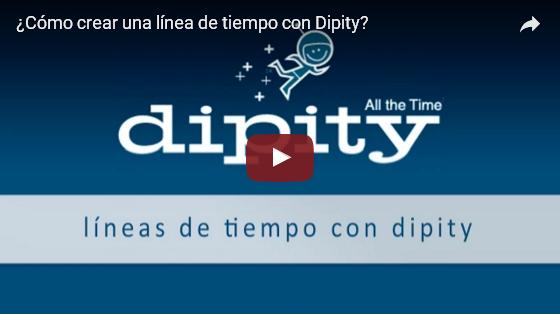 """Como crear líneas del tiempo con """"Dipity"""""""