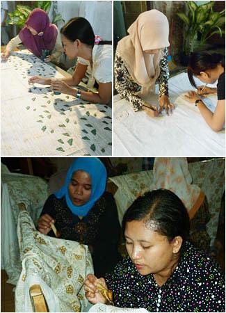 Intip Proses Pembuatan Batik