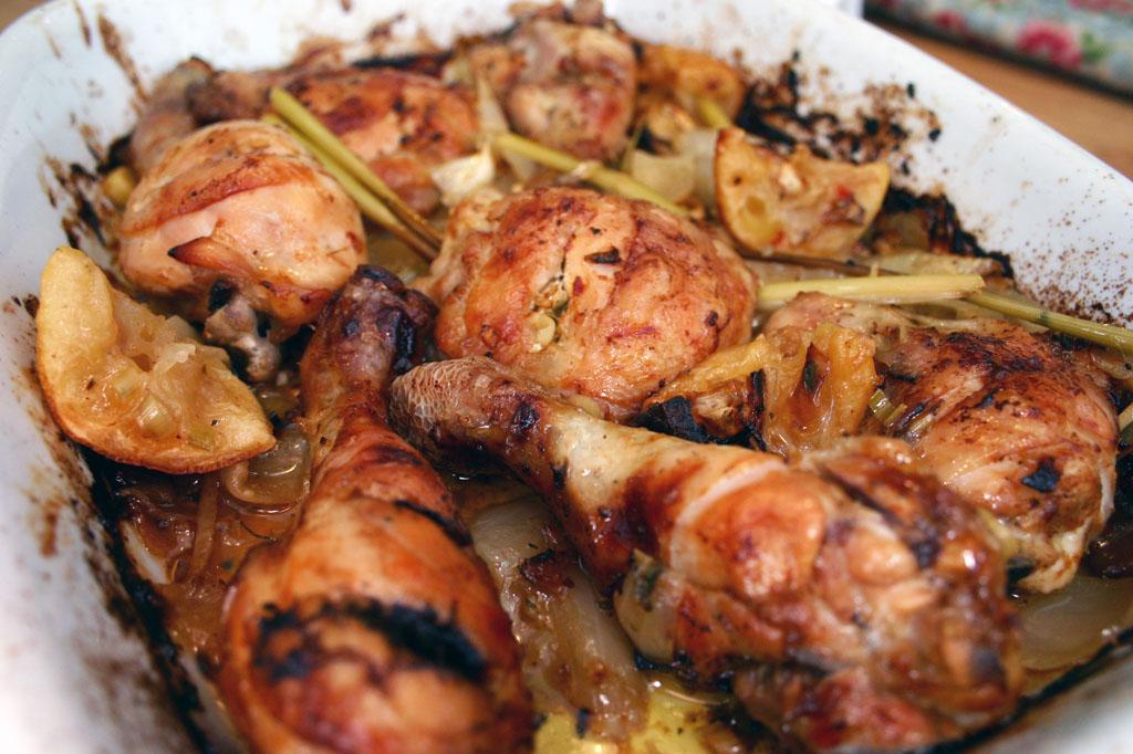 Belleau Kitchen: roasted thai chicken thighs