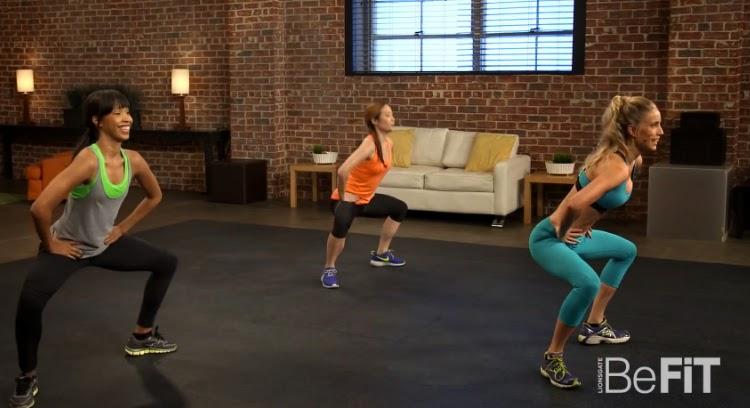 ćwiczenia na smukłe uda i jędrne pośladki - trening wideo