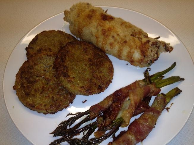 Frøken andersens madglade side: kylling gordon bleu med asparges ...