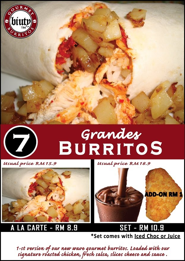 Set 7-Grandes Burritos