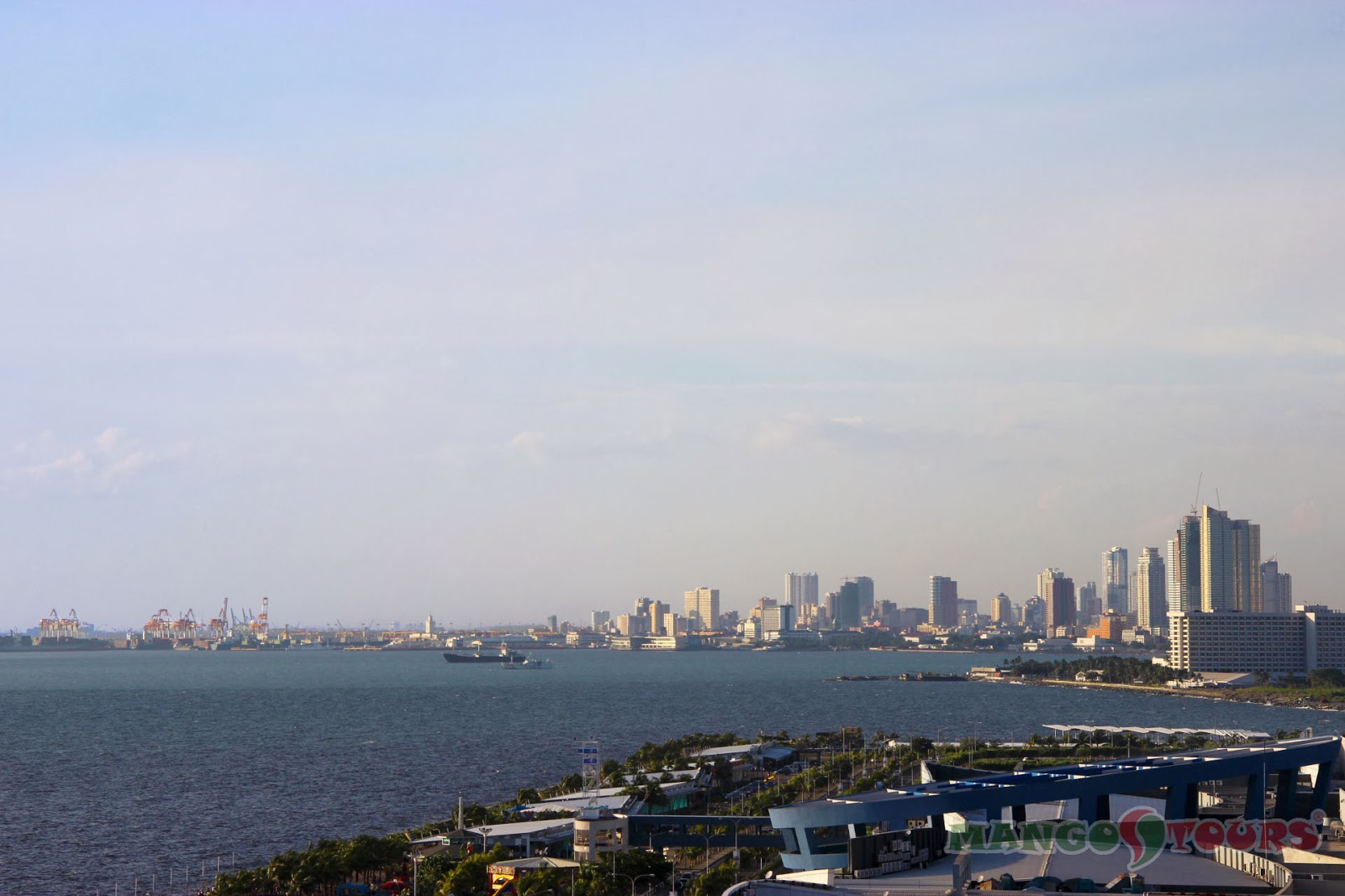 Mango Tours Microtel by Wyndham Mall of Asia overlooking view Manila Bay