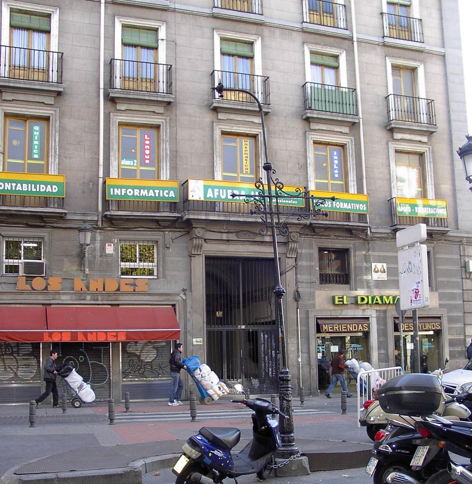 Antiguos caf s de madrid y otras cosas de la villa 08 01 - H m calle orense madrid ...