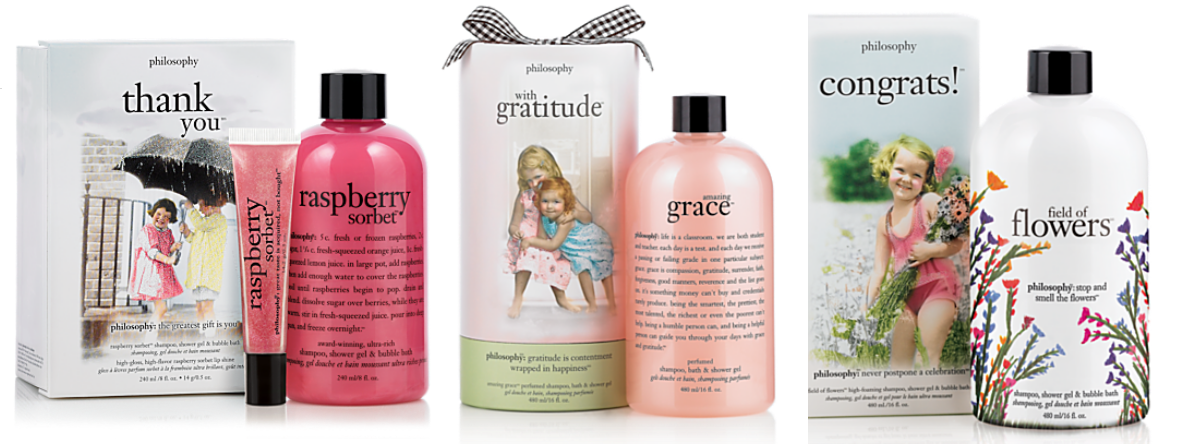 Im Loving The Gift Sets From Philosophy I Have Just Finished Vanilla Birthday Cake Body Wash Below Is Recipe Bottlethey Are