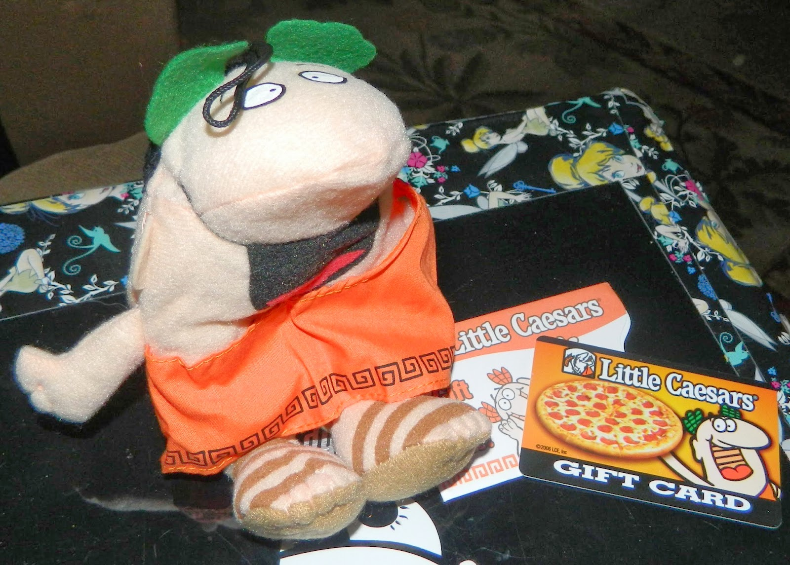 Enter to win a $25 Little Caesars Gift Card and Bean Doll. Ends 3/25.