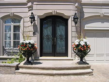 cheap exterior doorswith sidelights setting up