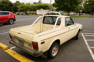 1978 Subaru Brat.