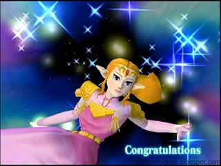 zelda melee classic congratulations
