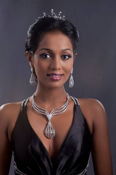 Madusha Mayadunne 2nd runner up at Miss International 2012