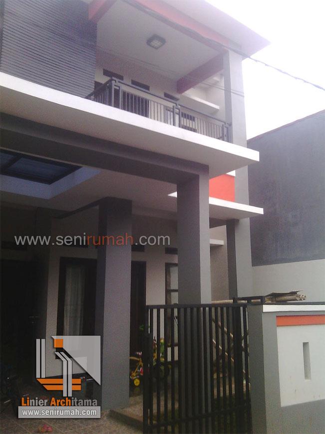 Desain Rumah Minimalis Tanah 7.5 x 15 Meter di Jatiasih