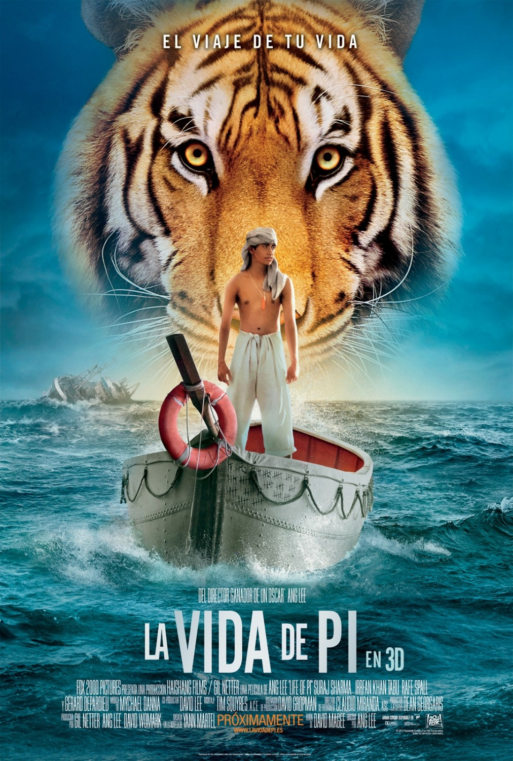 As Aventuras de Pi (Life of Pi) BluRay 720p x264 Dual Áudio - Torrent
