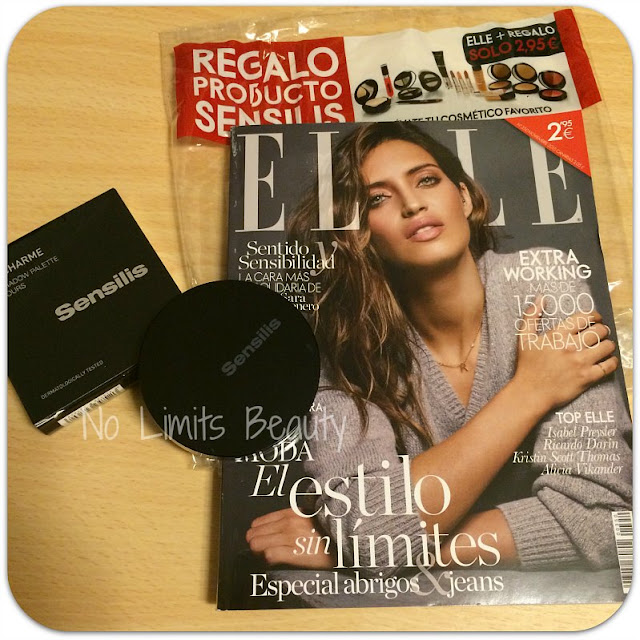 Maquillaje de Sensilis con Elle Pocket Noviembre 2015: paleta de sombras 03 Goldcharme