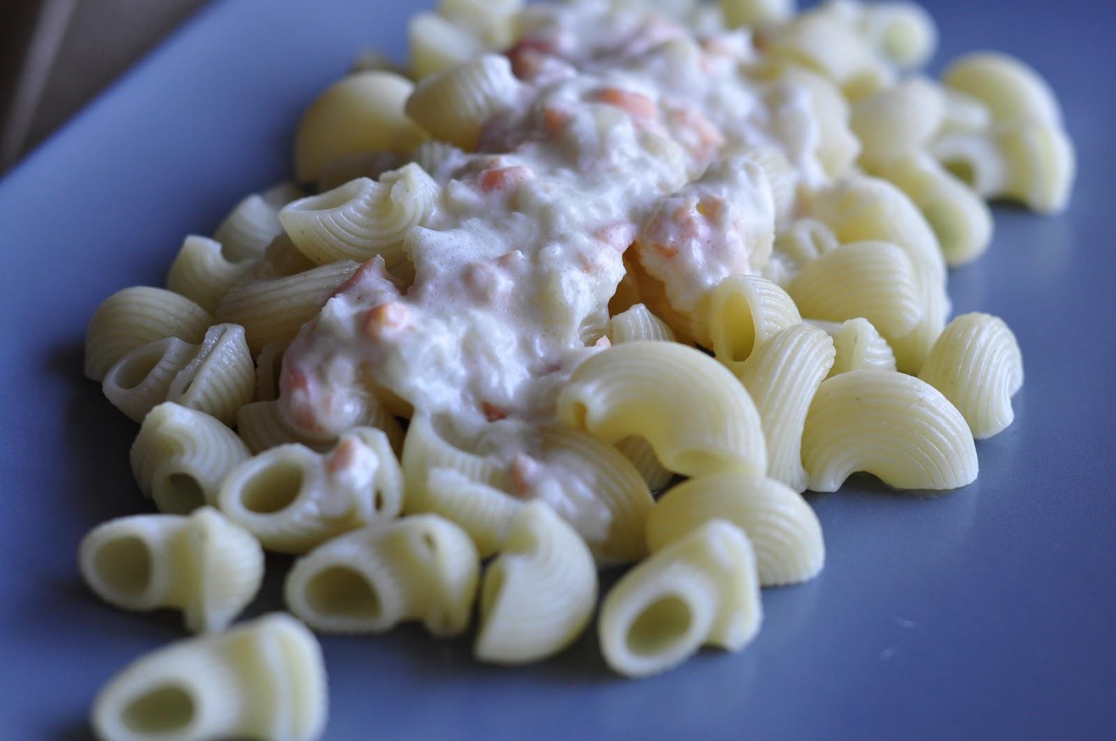 Un domingo en mi cocina: Pasta con salmón y nata