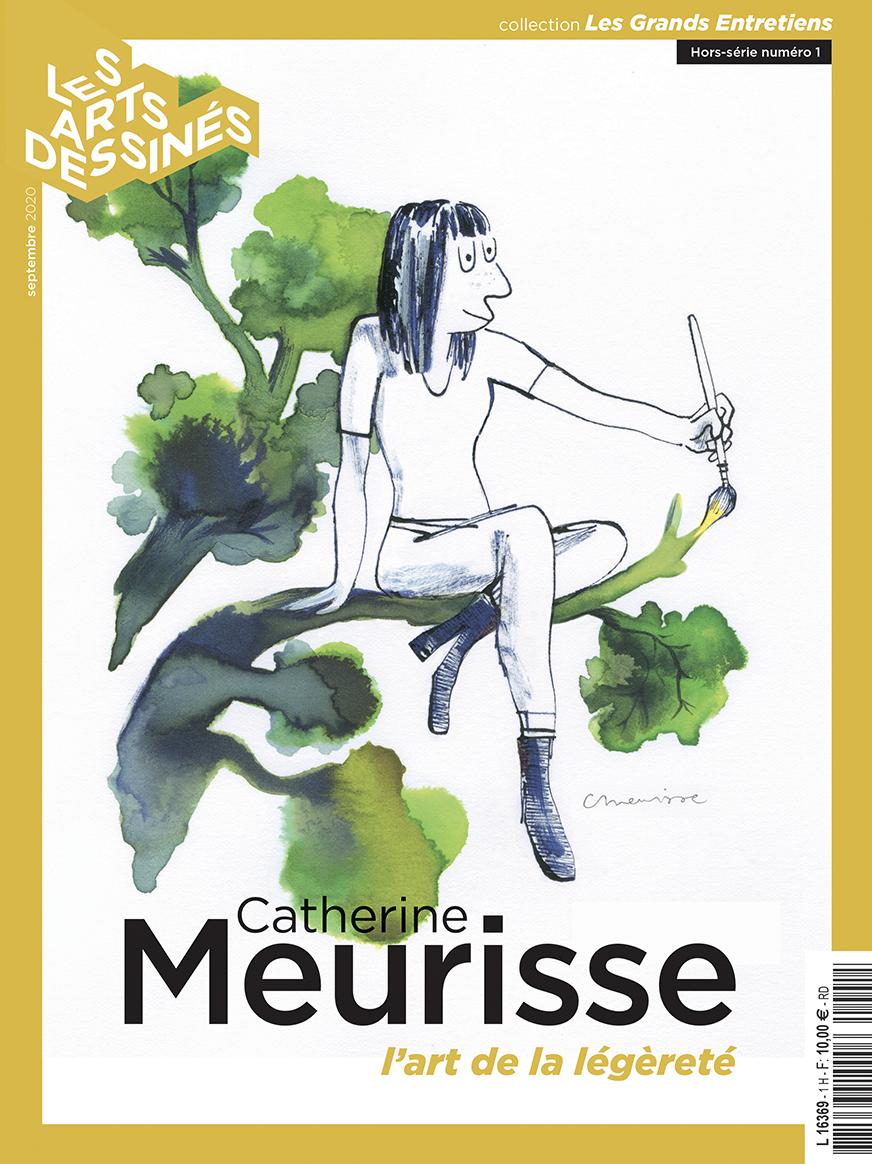 Catherine Meurisse, l'art de la légèreté